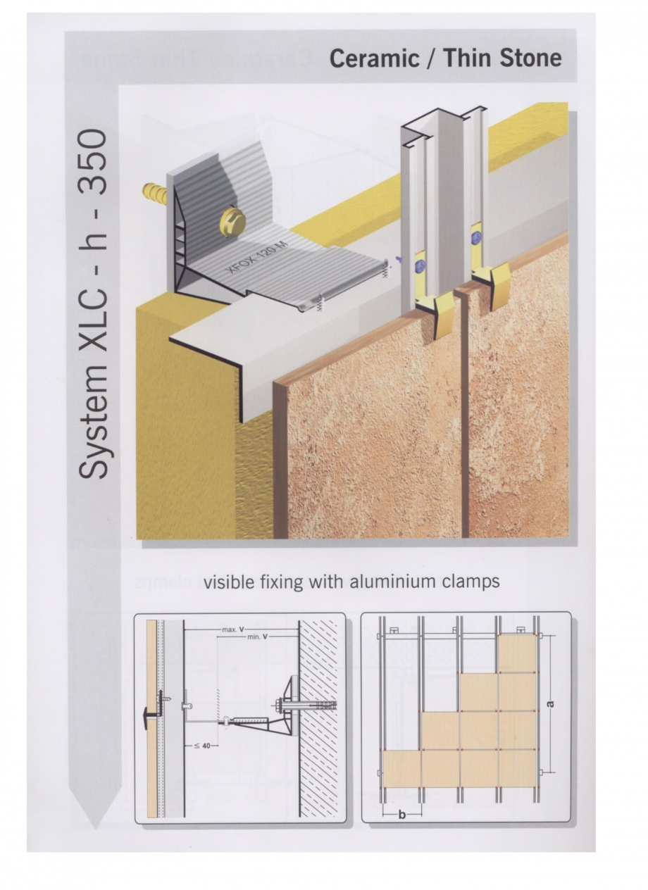 Fisa tehnica Sisteme de fixare pentru fatade ventilate cu placaj ceramic MacFOX EUROFOX Sisteme de fixare din aluminiu pentru placaje uscate exterioare GIBB TECHNOLOGIES  - Pagina 3