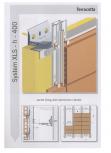 Sisteme de fixare pentru fatade ventilate cu placaj din caramida EUROFOX - MacFOX