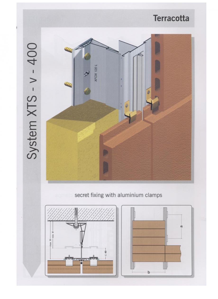 Fisa tehnica Sisteme de fixare pentru fatade ventilate cu placaj din caramida MacFOX EUROFOX Sisteme de fixare din aluminiu pentru placaje uscate exterioare GIBB TECHNOLOGIES  - Pagina 3