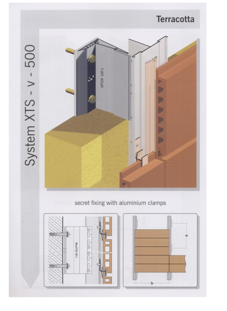 Fisa tehnica Sisteme de fixare pentru fatade ventilate cu placaj din caramida MacFOX EUROFOX Sisteme de fixare din aluminiu pentru placaje uscate exterioare GIBB TECHNOLOGIES  - Pagina 4
