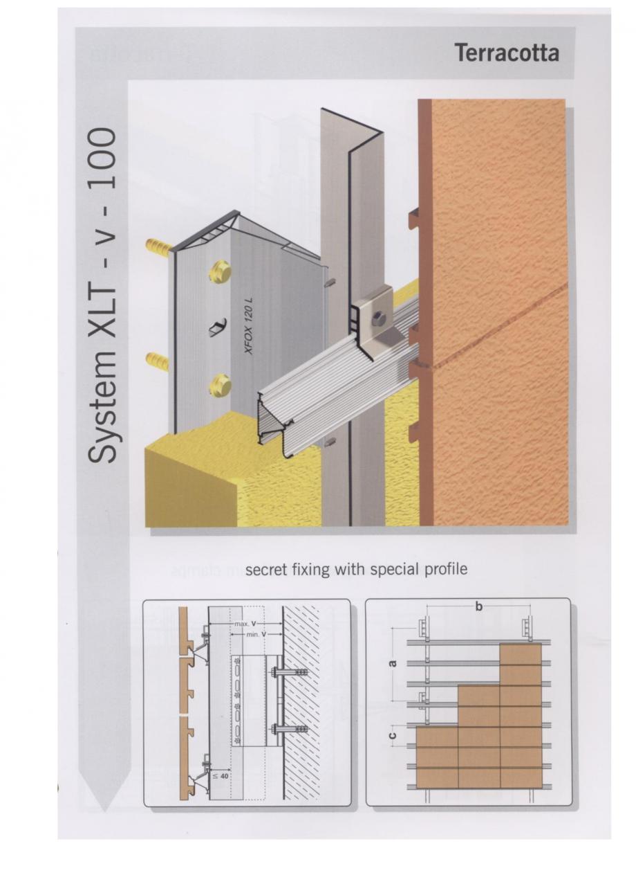 Fisa tehnica Sisteme de fixare pentru fatade ventilate cu placaj din caramida MacFOX EUROFOX Sisteme de fixare din aluminiu pentru placaje uscate exterioare GIBB TECHNOLOGIES  - Pagina 5