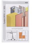 Sisteme de fixare pentru fatade ventilate cu placaj din panouri compozite EUROFOX - MacFOX