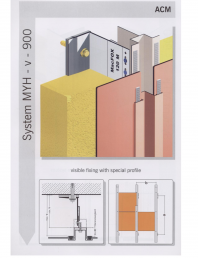 Sisteme de fixare pentru fatade ventilate cu placaj din panouri compozite