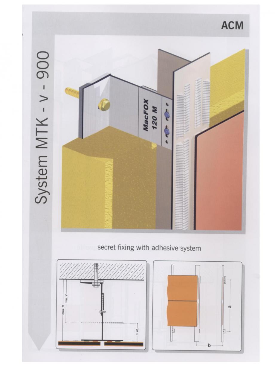 Pagina 3 - Sisteme de fixare pentru fatade ventilate cu placaj din panouri compozite EUROFOX MacFOX...