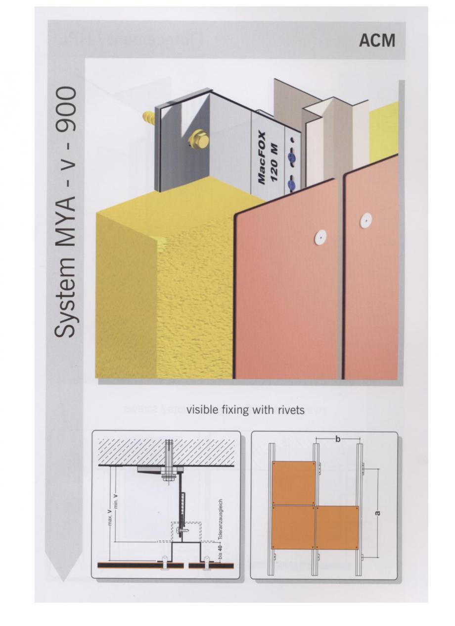 Pagina 4 - Sisteme de fixare pentru fatade ventilate cu placaj din panouri compozite EUROFOX MacFOX...