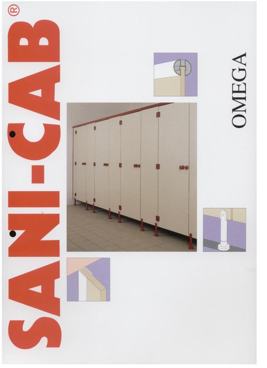 Pagina 1 - Cabine sanitare SANI-CAB OMEGA Catalog, brosura Engleza