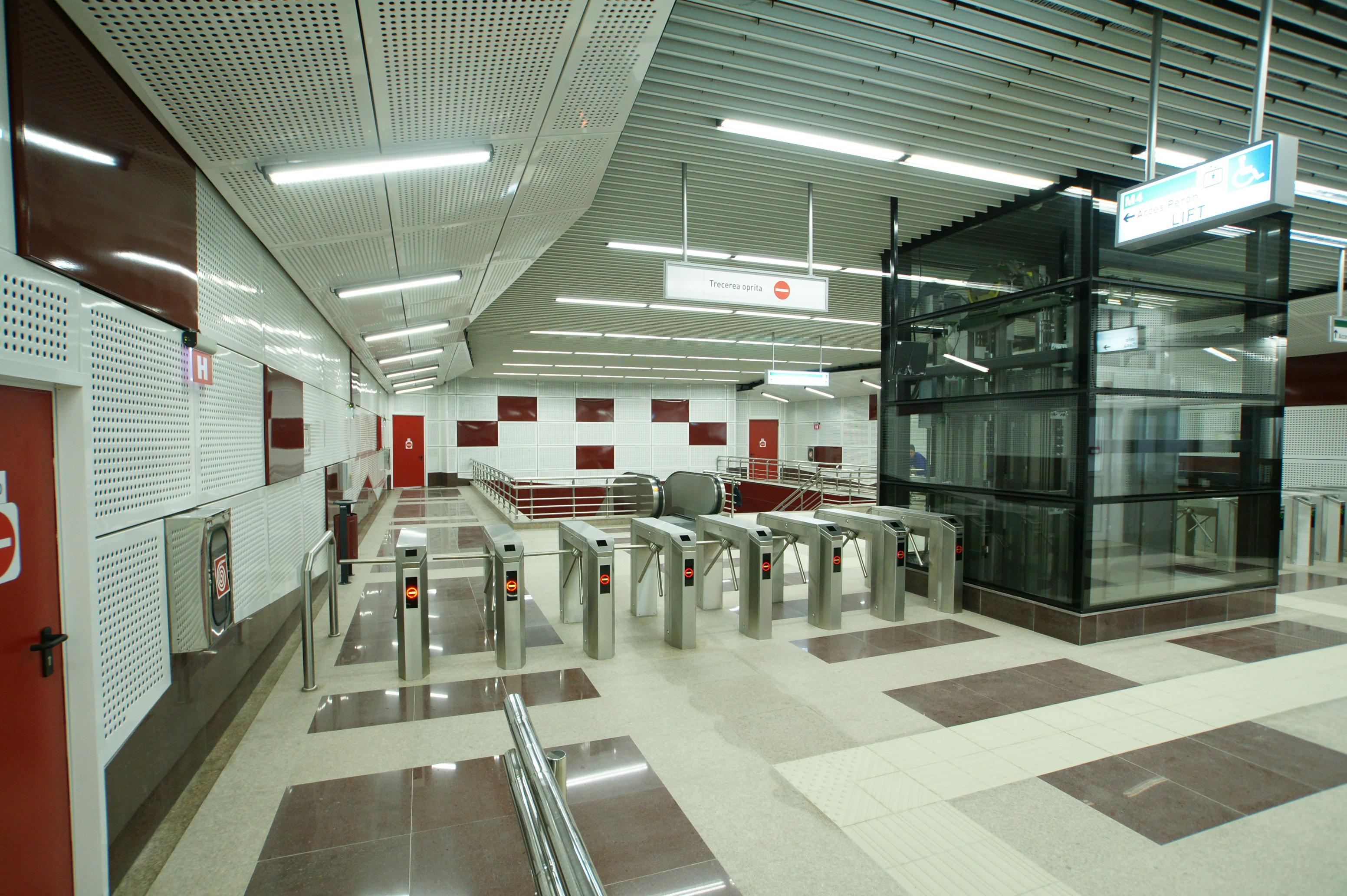 Panouri din tabla de otel folosite la statia de metrou Jiului OMERAS - Poza 2