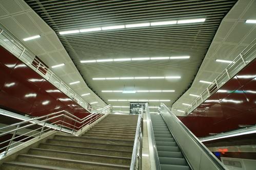 Lucrari, proiecte Panouri din tabla de otel folosite la statia de metrou Jiului OMERAS - Poza 5