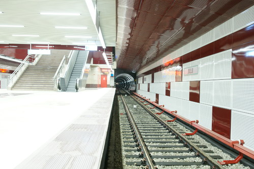 Lucrari de referinta Panouri din tabla de otel folosite la statia de metrou Jiului OMERAS - Poza 8
