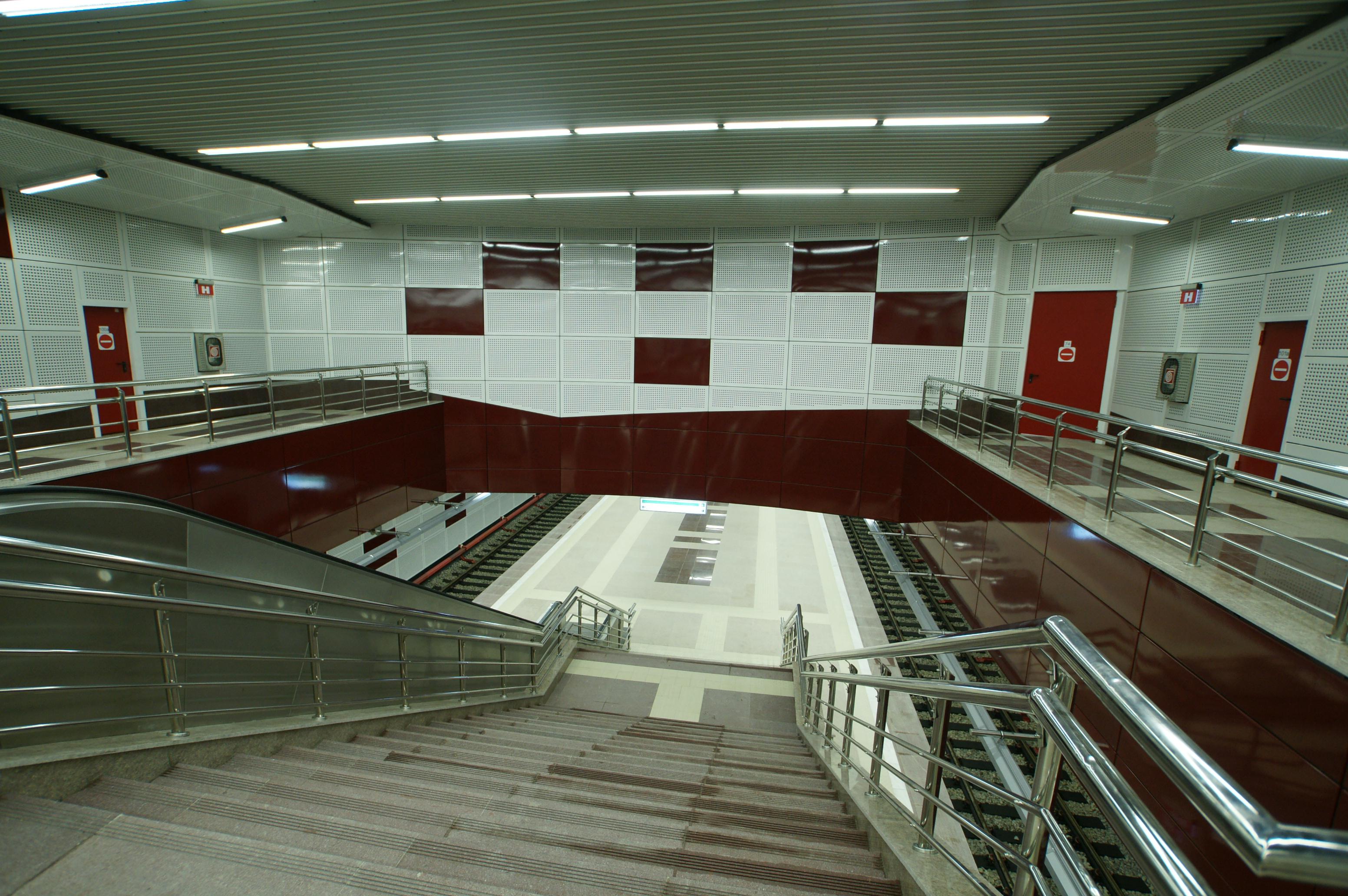 Panouri din tabla de otel folosite la statia de metrou Jiului OMERAS - Poza 9