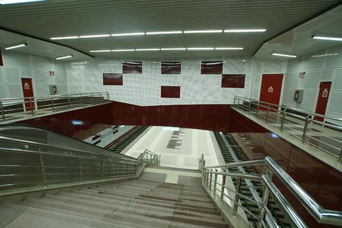 Lucrari de referinta Panouri din tabla de otel folosite la statia de metrou Jiului OMERAS - Poza 9