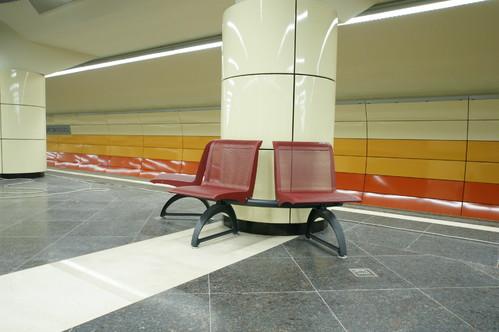 Lucrari de referinta Panouri din tabla de otel folosite la statia de metrou Bazilescu OMERAS - Poza 3