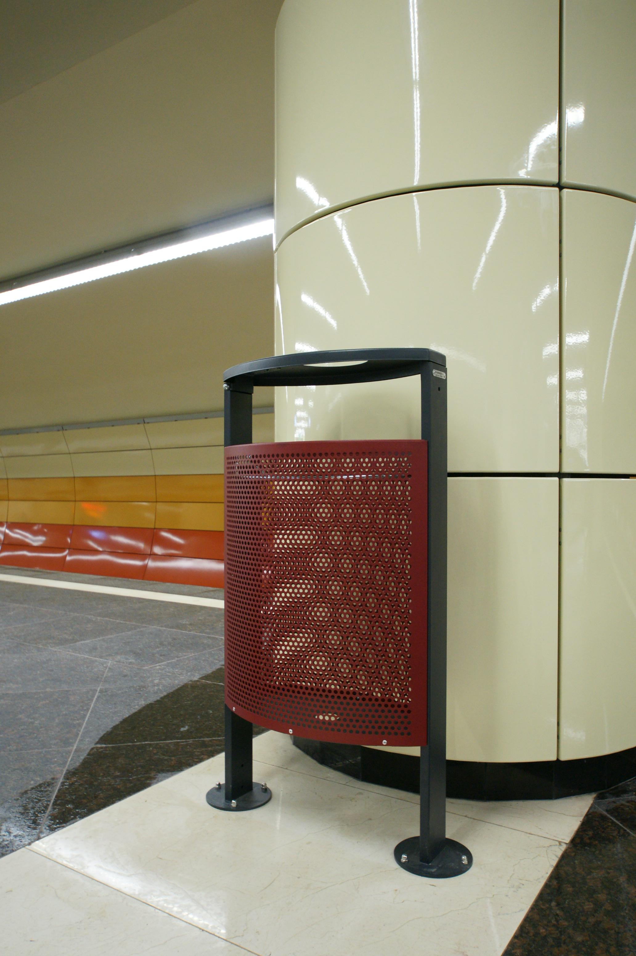 Panouri din tabla de otel folosite la statia de metrou Bazilescu OMERAS - Poza 8