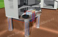 Montaj piloni energetici GEOSOL ENERGY RESEARCH