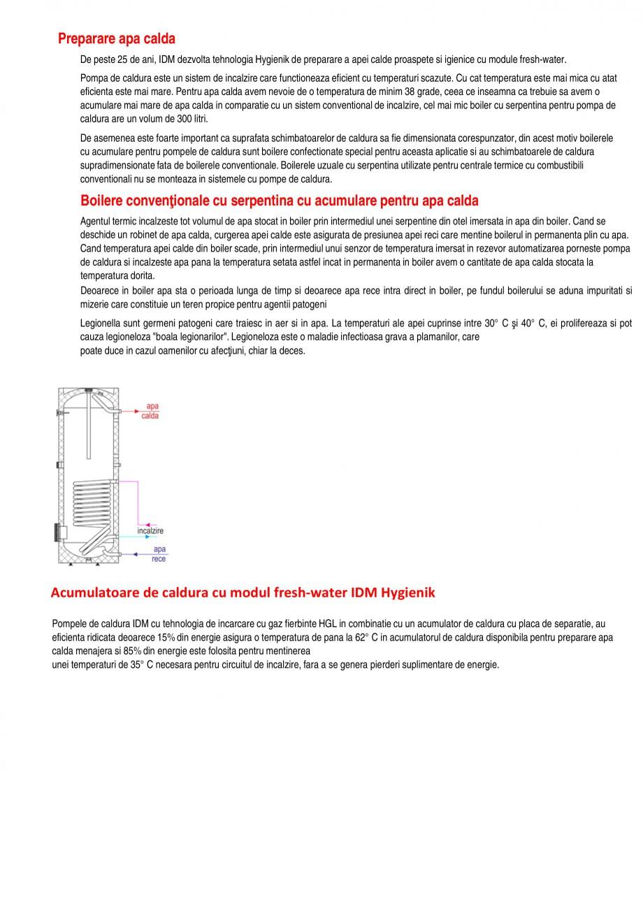 Catalog, brosura Functiile pompelor de caldura TERRA SW 8-17 HGL, TERRA SW 20-42 Twin HGL, TERRA SW 6-17 BASIC, TERRA SW 15-42 Twin BASIC, TERRA SW 18 H/28 H IDM Pompe de caldura sol-apa ALEXA TOTAL INSTAL ferite. Pompele de caldura se conecteaza prin CANBUS. Se permite ajustarea orelor de functionare, se... - Pagina 6