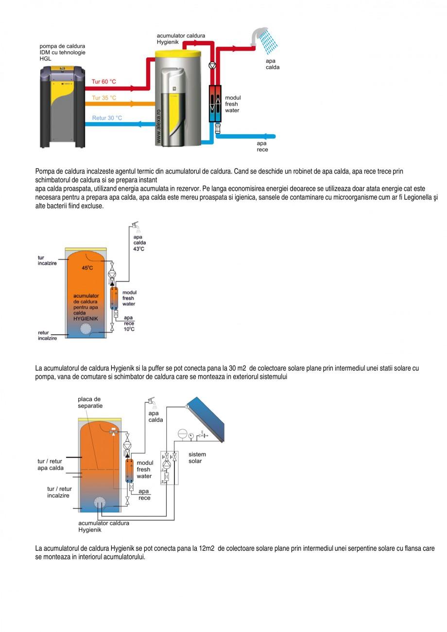 Catalog, brosura Functiile pompelor de caldura TERRA SW 8-17 HGL, TERRA SW 20-42 Twin HGL, TERRA SW 6-17 BASIC, TERRA SW 15-42 Twin BASIC, TERRA SW 18 H/28 H IDM Pompe de caldura sol-apa ALEXA TOTAL INSTAL a electronica pentru control solar este disponibila ca accesoriu  Controlul functionarii bivalente... - Pagina 7