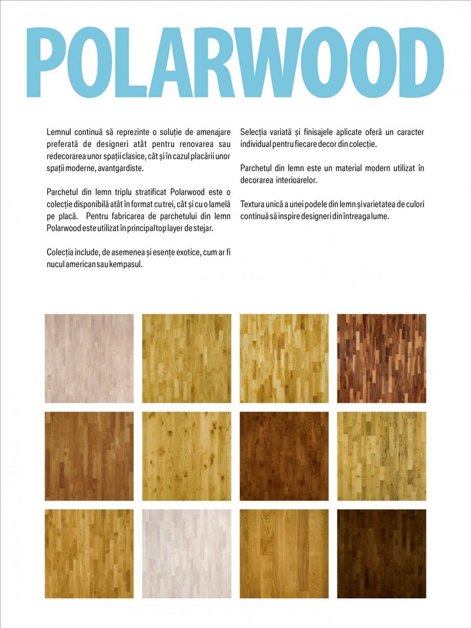 Pagina 2 - Parchet triplu stratificat stejar Polarwood - Catalog POLARWOOD Tundra White Matt,...