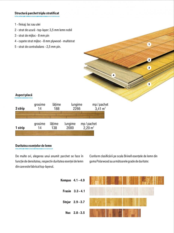 Pagina 3 - Parchet triplu stratificat stejar Polarwood - Catalog POLARWOOD Tundra White Matt,...