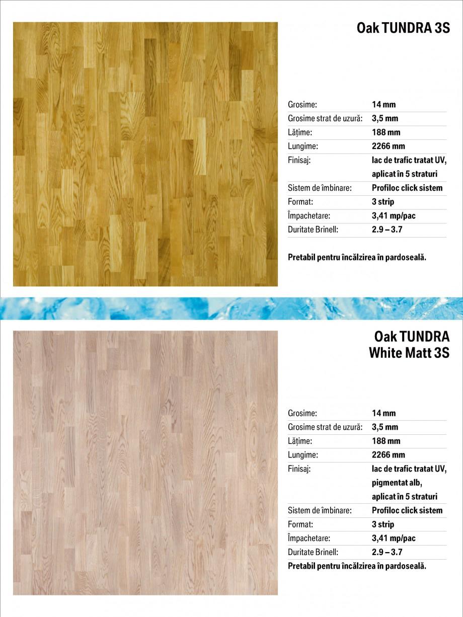 Pagina 4 - Parchet triplu stratificat stejar Polarwood - Catalog POLARWOOD Tundra White Matt,...