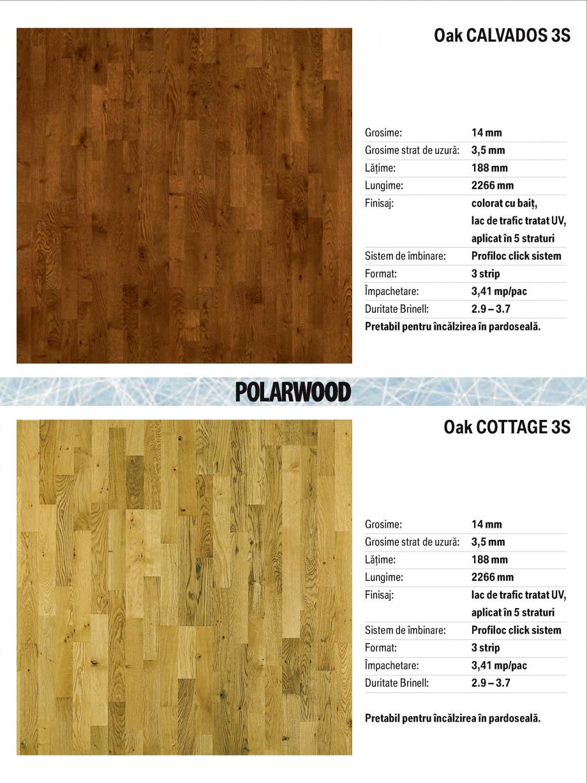 Pagina 7 - Parchet triplu stratificat stejar Polarwood - Catalog POLARWOOD Tundra White Matt,...