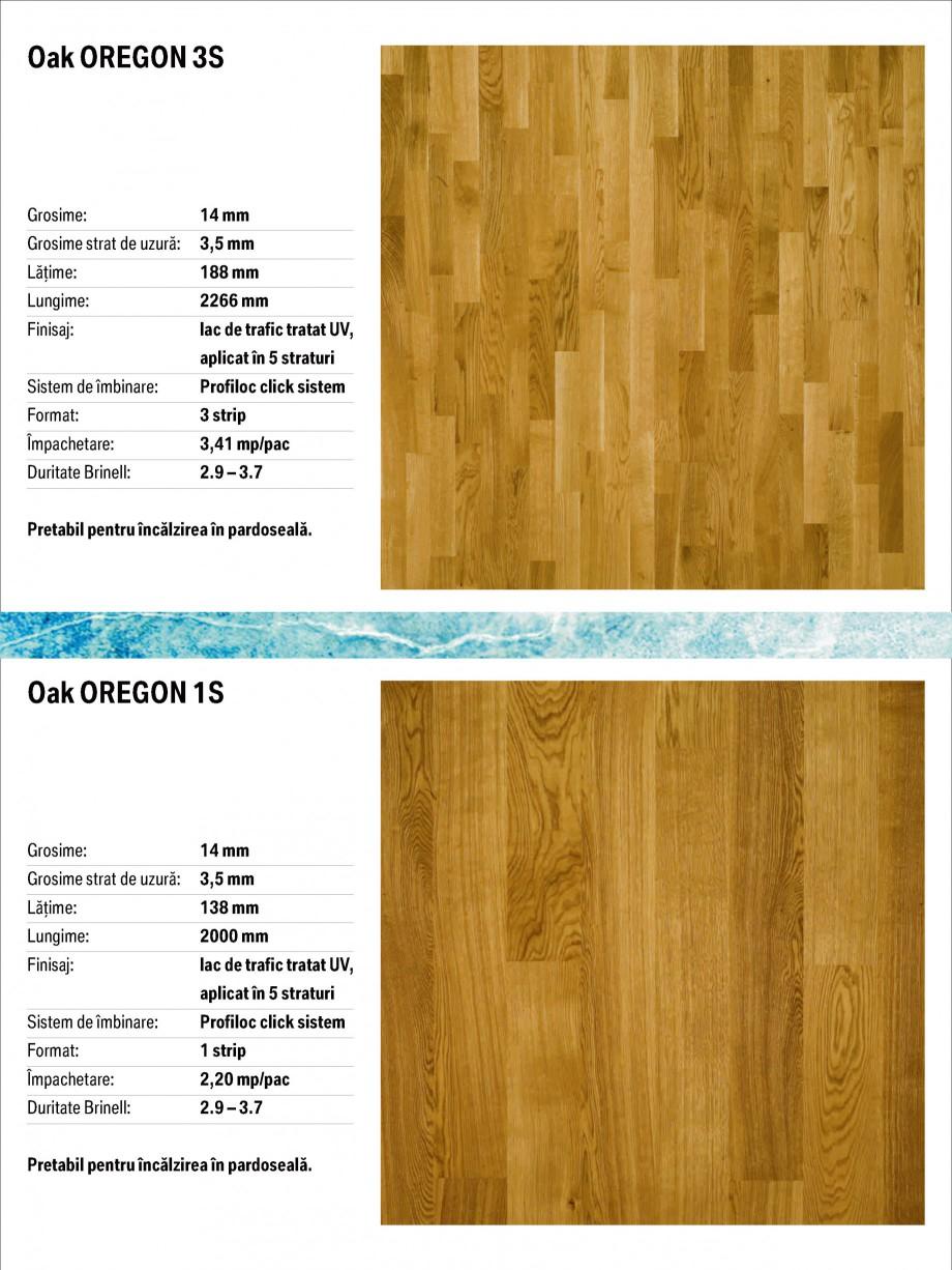 Pagina 8 - Parchet triplu stratificat stejar Polarwood - Catalog POLARWOOD Tundra White Matt,...