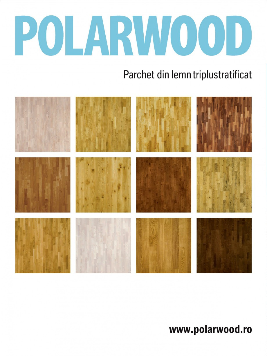 Pagina 12 - Parchet triplu stratificat stejar Polarwood - Catalog POLARWOOD Tundra White Matt,...