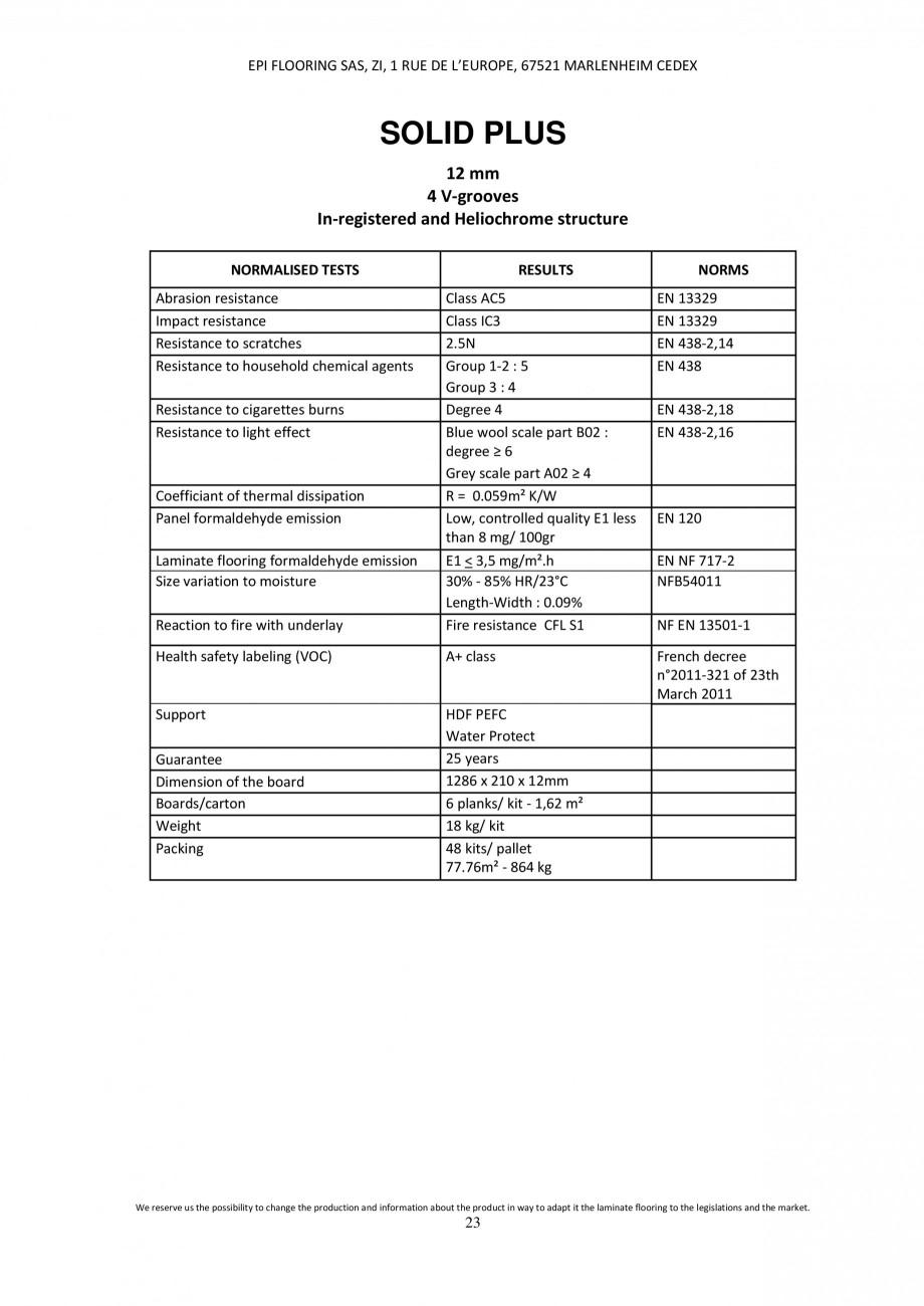 Pagina 22 - Parchet laminat - Utilizare, montaj si informatii - Alsafloor ALSAFLOOR Sardinia Oak 619...