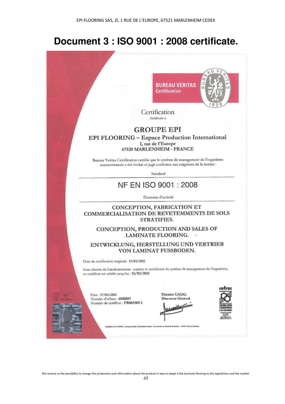 Pagina 45 - Parchet laminat - Utilizare, montaj si informatii - Alsafloor ALSAFLOOR Sardinia Oak 619...