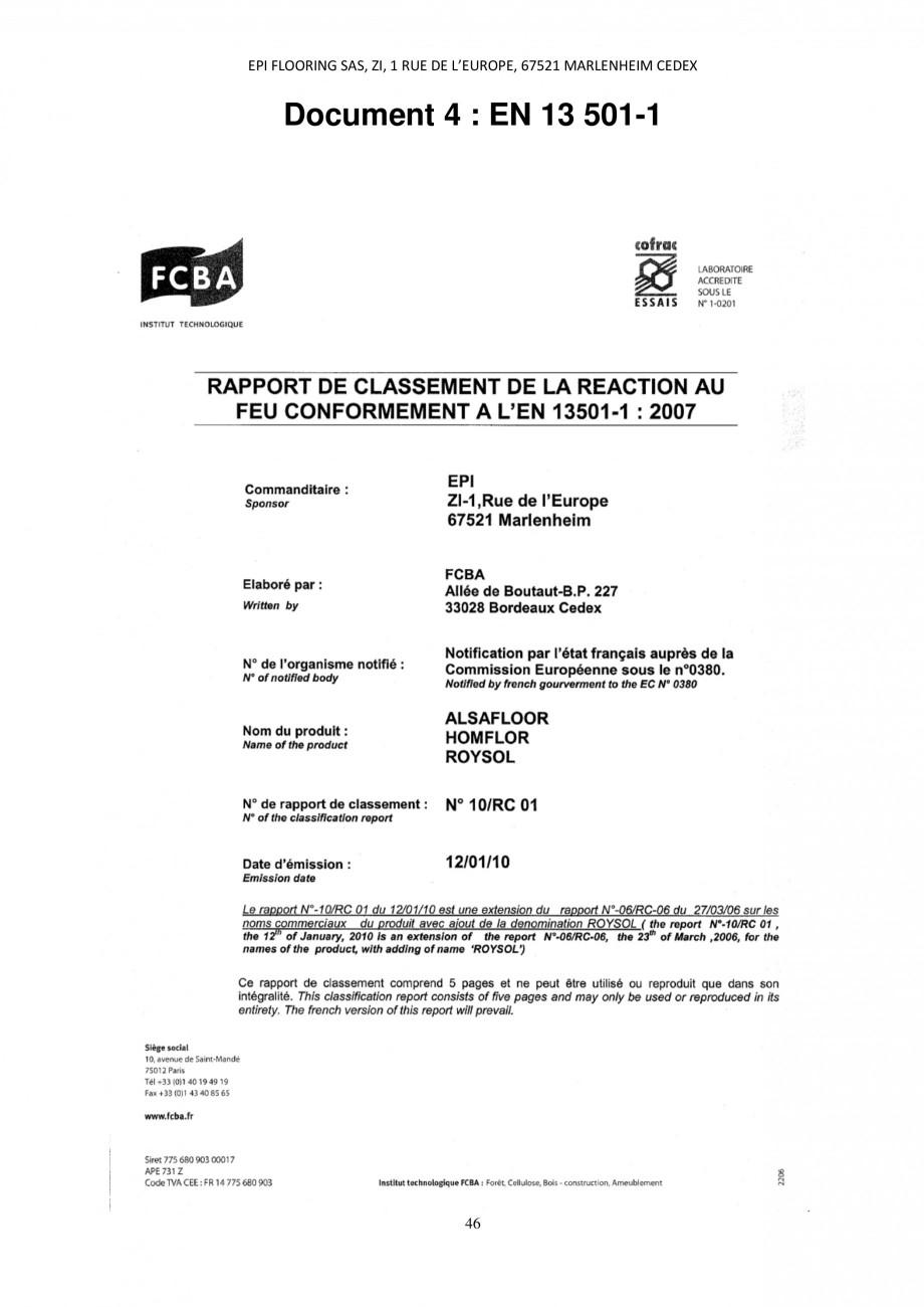 Pagina 46 - Parchet laminat - Utilizare, montaj si informatii - Alsafloor ALSAFLOOR Sardinia Oak 619...