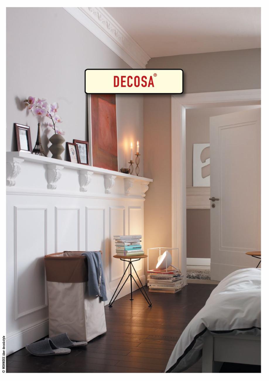 Pagina 1 - Rozete decorative DECOSA Fisa tehnica Engleza © WOHNIDEE über deco&style  ROSETTES /...