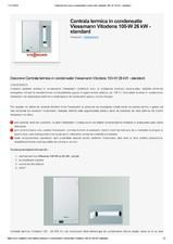 Centrala termica in condensatie - standard VIESSMANN