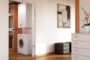 Centrale termice in condensatie Centrale termice in condensatie Viessmann contribuie activ la protejarea mediului inconjurator, datorita eficientei energetice ridicate la transformarea combustibilului gazos in agent termic