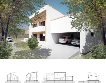 Casa de vacanta P+1E Breaza / Locuinta unifamiliala P+1E Breaza 2