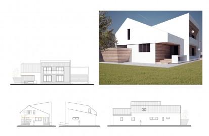 Casa de vacanta P+1E Breaza / Locuinta unifamiliala P+1E Breaza 3