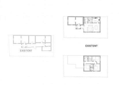 Extindere locuinta existenta Parter in Parter + Mansarda - Bucuresti, str. Ramasagului / Locuinta unifamiliara P+M Bucuresti - str. Ramasagului 05.3