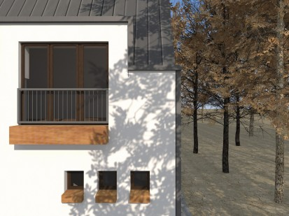 Casa de vacanta P+M - Nistoresti - Breaza - balcon - detaliu P+M - Nistoresti -