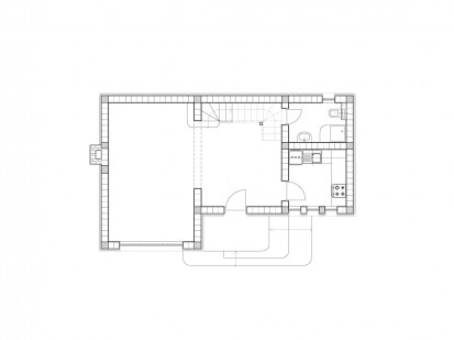 Casa de vacanta P+M - Nistoresti - Breaza - plan constructie - camere bucatarie baie P+M