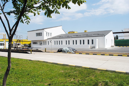 Vestiare pentru angajatii fabricii de pulberi metalice - Buzau / Vestiare pentru angajatii fabricii de pulberi metalice - Buzau 01.13