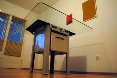 Obiect de mobilier - Aragazul de Satu Mare / Obiect de mobilier - Aragazul de Satu Mare - 01.10