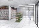 Amenajare magazin de presa si articole culturale intr-un spital - Bucuresti | Magazin in spital
