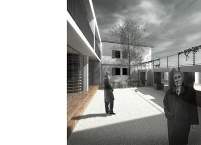Casa de batrani - Nehoiasi Buzau 3 Camin batrani Casa de batrani propusa in foste camine