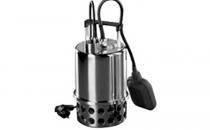Pompe submersibile pentru ape murdare  GALAXY TERMO TRADING ofera pompe submersibile pentru ape murdare din inox, cu dubla etansare in baie de ulei.