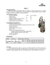 Pompa submersibila pentru ape murdare GALAXY TERMO TRADING