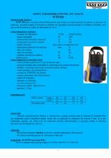 Pompa submersibila pentru ape curate GALAXY TERMO TRADING