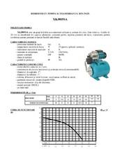 Hidrofor cu pompa autoamorsanta din inox GALAXY TERMO TRADING