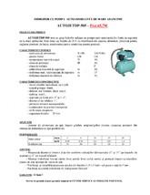 Hidrofor cu pompa autoamorsanta de mare adancime GALAXY TERMO TRADING