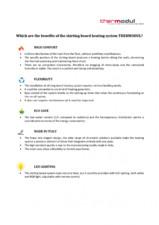 Beneficiile sistemelor de incalzire prin plinta THERMODUL