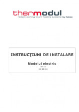 Sistem de incalzire prin plinta - model electric THERMODUL