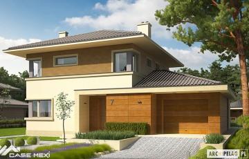 Case la cheie pe structura metalica usoara Case Mexi aduce pe piata constructiilor civile exprienta cumulata a intregului grup, pe care o transpune intr-o noua viziune asupra constructiilor de case pe structuri metalice.