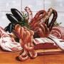 Decor plita gourmet carne